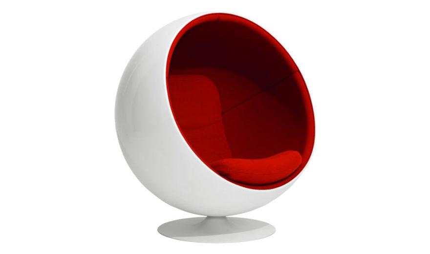 Кресло Ball, дизайнер Арне Якобсен, Fritz Hansen.