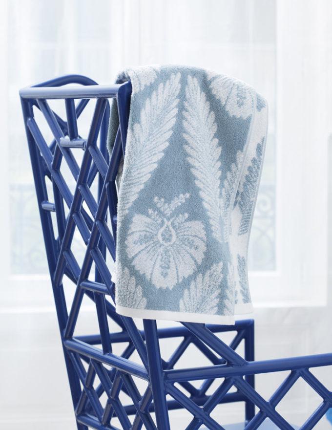 Махровое полотенце, Yves Delorme, коллекция Palmes.