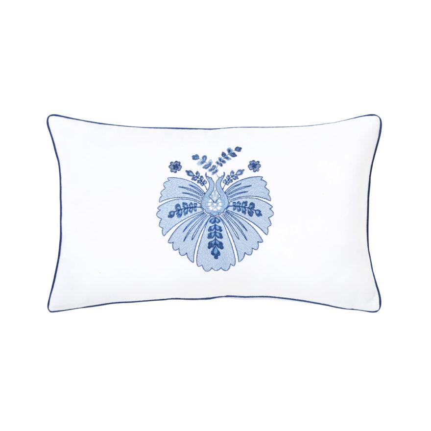 Декоративная подушка Yves Delorme, коллекция Palmes.