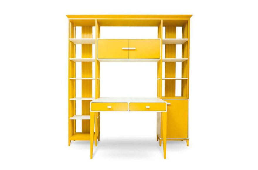 Рабочая зона для детской. Производство VYSOTKA home. Дизайнер Мария Мельничук и Юлия Меньшова. Для квартиры Юлии Меньшовой.