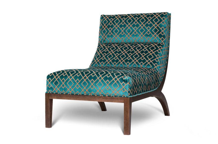 Кресло, производство VYSOTKA home. Интерпретация Avery Chair дизайнера Roman Thomas для квартиры Юлии Меньшовой.