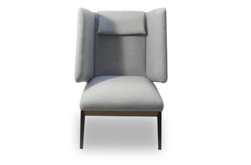 Кресло, производство VYSOTKA home. Интерпретация HUG CHAIR компании Arflex, дизайнер Claesson Koivisto Rune. Для Noor bar.