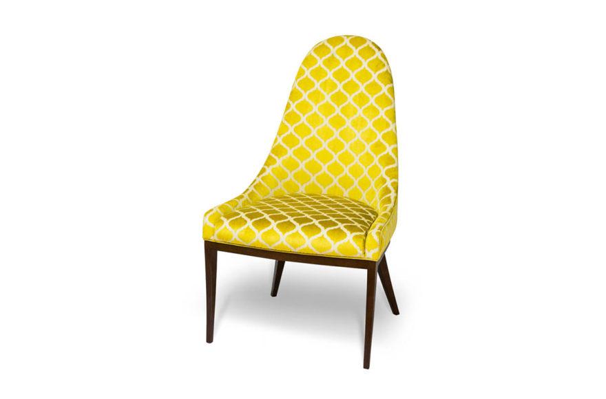 Кресло VENICE, производство VYSOTKA home. Дизайнеры Мария Мельничук и Юлия Меньшова. Для квартиры Юлии Меньшовой.